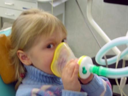 Масочный наркоз, применяемый в детской стоматологии