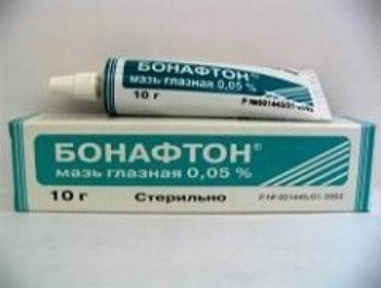 Мазь от стоматита: Бонафтон